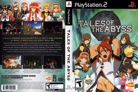 wildly misleadingdvd sleeves 1 tales of the abyss cover download sony playstation 2