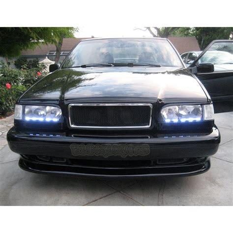 volvo 850 light 1993 1997 volvo 850 led drl light strips for headls