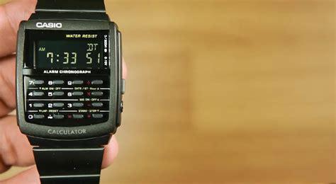Jam Kalkulator Casio Ca 56 review casio standard ca 506b 1a jam kalkulator dengan desain yang wah indowatch co id