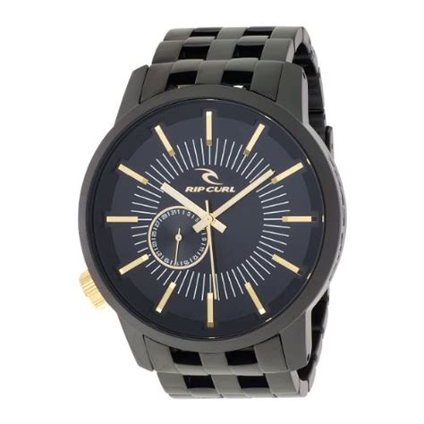 Rip Curl Stainless Black Gold rip curl s a2221 mgl detroit stainless steel midnight gold rip curl rip curl a2221 mgl