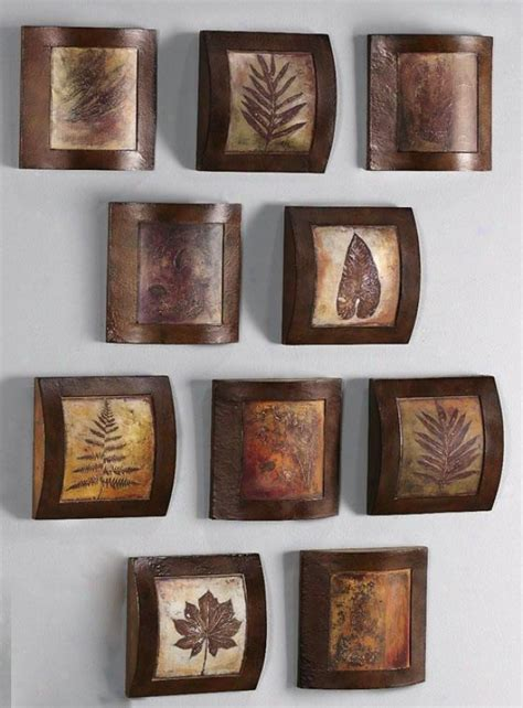 wall art collage fossil collage wooden wall art home decor online catalog