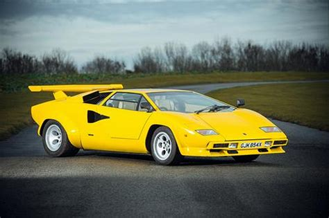 Lamborghini Countach Lamborghini Countach 400s To Be Auctioned In Uk