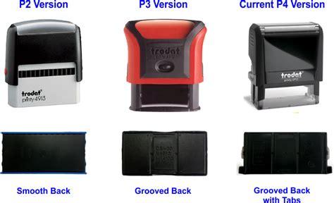 trodat rubber st ink pad model 6 4927 tst rubber st