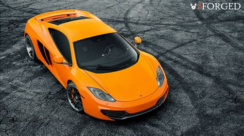 orange mclaren 12c bright orange mclaren mp4 12c on iforged wheels gtspirit