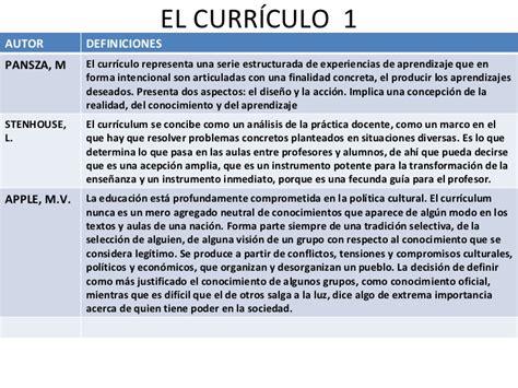 Diseño Curricular Definicion Autores Capacitaci 243 N Modelos Pedag 243 Gicos