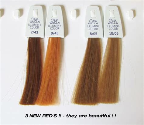 illumina news wella illumina new reds gingerheads