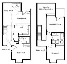 small house plans with loft bedroom floor plan two bedroom loft rci id 1711 whispering woods resortwhispering woods resort