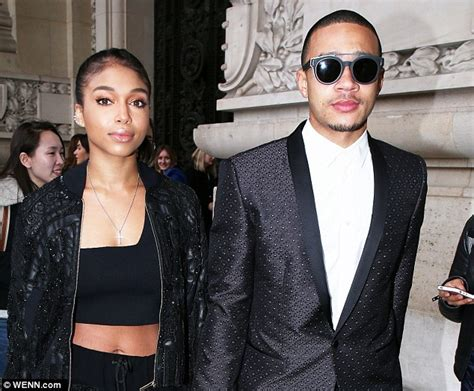 steve harvey daughter jair styles manchester united flop shows style at paris fashion week