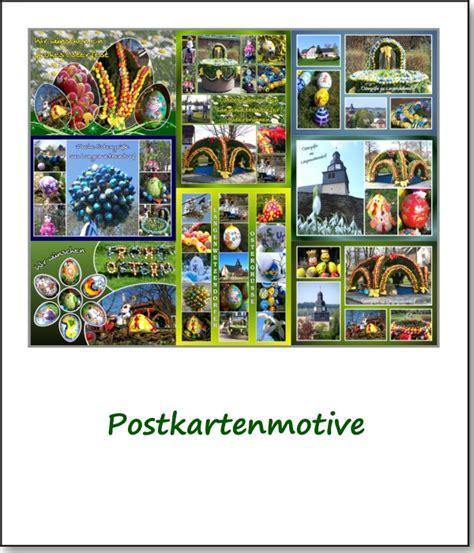 Postkarten Drucken Kleine Auflage by Postkarten Der Langenwetzendorfer Osterbrunnen
