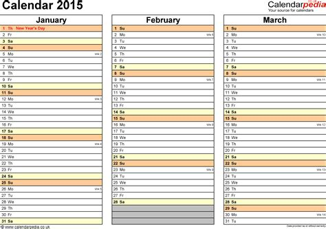 2015 Calendar Templates For Word – Microsoft 2015 Monthly Calendar Templates   Calendar