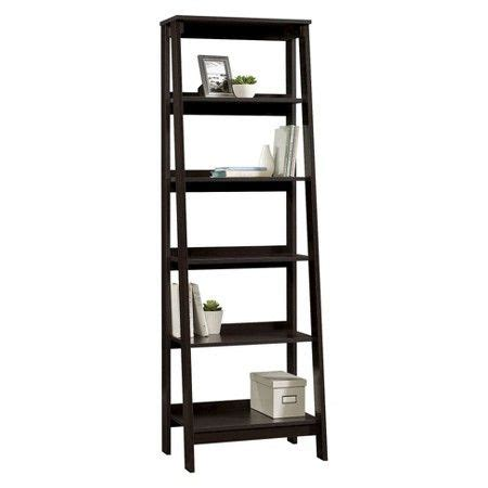 5 shelf trestle bookcase 5 shelf trestle bookcase espresso room essentials