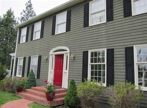 how to paint a house how to paint your house with green wall color theme with white windows frame home