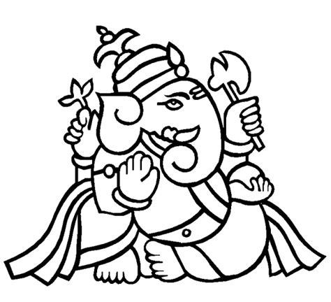 Ganesh Ji Sketches by Sketch Of Ganesh Ji Clipart Best