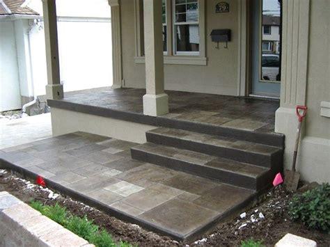 Concrete Porch Steps Concrete Floor 250 best bungalow front entrance porch design and walkway images on