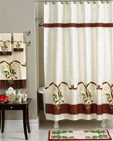 Bathroom Ideas With Shower Curtains christmas shower curtains sets home design ideas