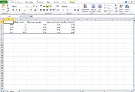 create a chart free workout chart for excel