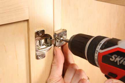 installing european style cabinet hinges how to install and adjust euro style hinges woodworking
