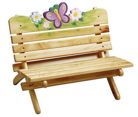 childrens wooden garden bench childrens magic garden indoor outdoor bench baby n toddler