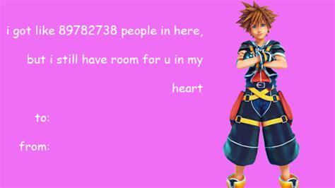 kingdom hearts valentines kingdom hearts valentines