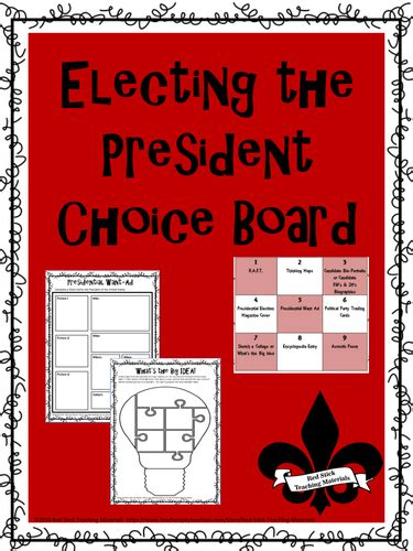 President Trading Cards Template by Redstickteaching S Shop Teaching Resources Tes