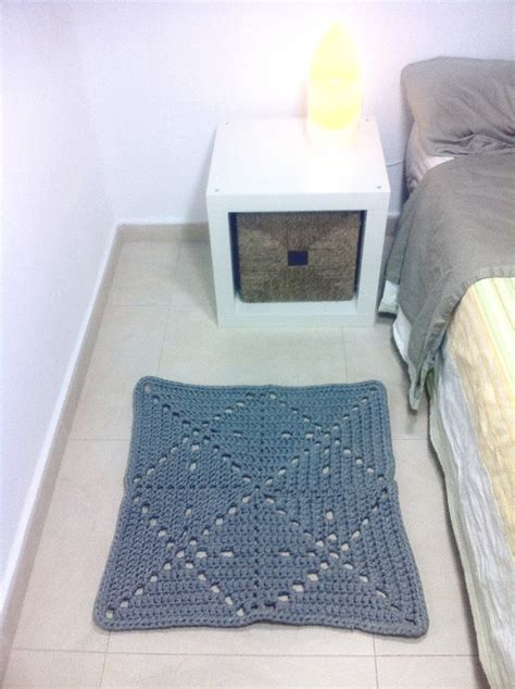 tutorial alfombra ganchillo xl tutorial diy quot alfombra cuadrada de trapillo a ganchillo quot