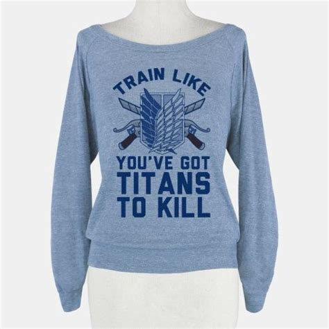 Attack On Titan 05 Raglan to kill crewneck sweatshirt lookhuman stuff i