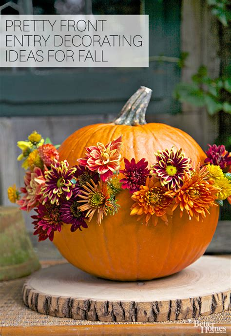 decorating pumpkins for fall pretty front entry decorating ideas for fall front entry
