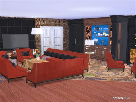 My Sims 4 Blog Clive C Living Room Set By Shinokcr Sims 2 Living Room Sets