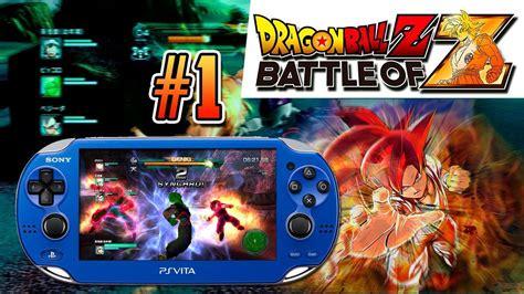dragon ball vita wallpaper psvita dragon ball z battle of z gameplay en espa 241 ol un