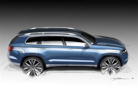 detroit 2013 vw crossblue concept 7 places dans un touareg