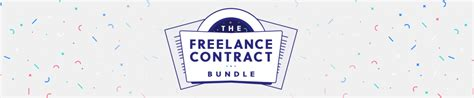 The Freelance Contract Bundle Motion Hatch Freelance Animation Contract Template