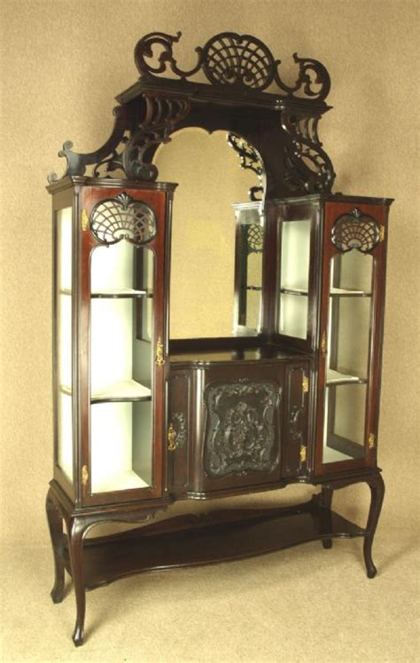 Ornate Display Cabinets by Ornate Late China Display Cabinet 278884