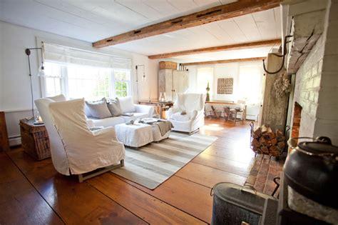 Farm Living Room by Rabbit Farm Shabby Chic Living Room Boston By