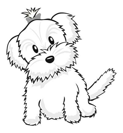 coloring pages of maltese puppies yorkie coloring pages color a puppy coloring book