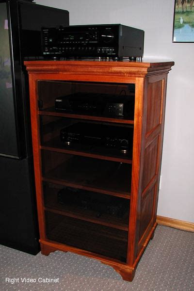 wood audio video cabinets mahogany audio video cabinets
