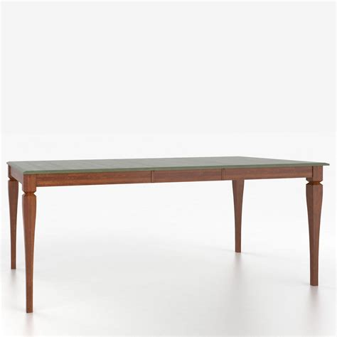 Custom Dining Tables Canadel Custom Dining Tables Tre048680101mpeb1 Customizable Rectangular Counter Height Table