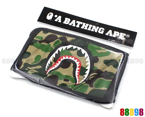 Bape Shark Camo new a bathing ape bape shark abc camo green mask ebay