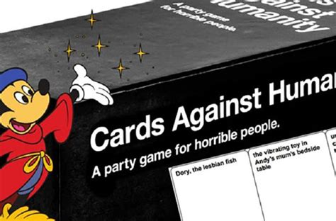 Cards Against Disney Template by Cards Against Humanity Takes Disney To A Whole New