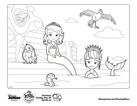 Sofia The Mermaid Coloring Pages sofia the mermaid print out and color away disney