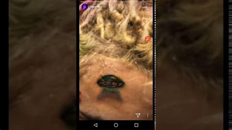lil pump new tattoo lil pump gets a new spaceship tattoo youtube