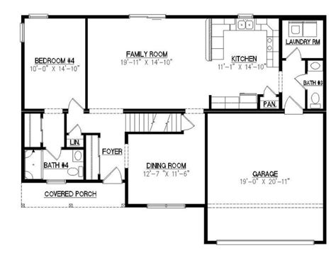 covington floor plan covington ii 2668 square foot two story floor plan