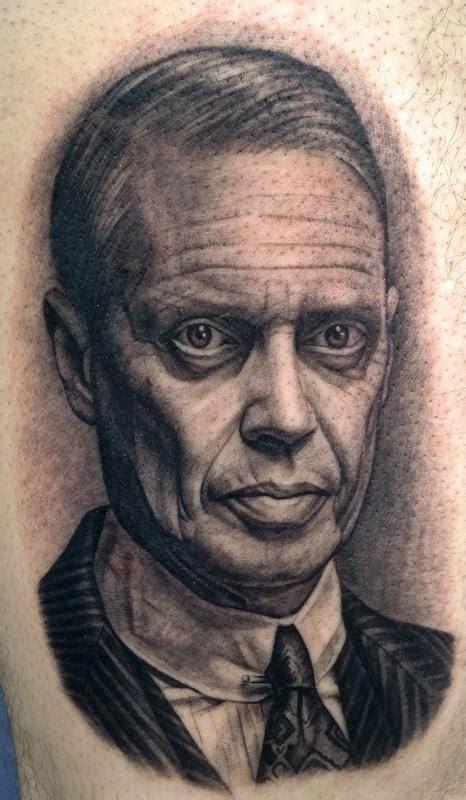 steve buscemi tattoo steve buscemi by pepper tattoos