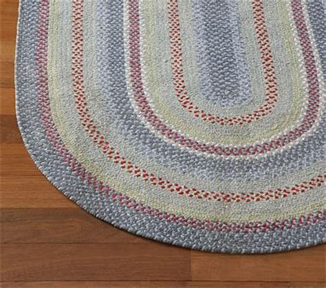 Pottery Barn Braided Rug Primary Chenille Braided Rug Swatch Pottery Barn
