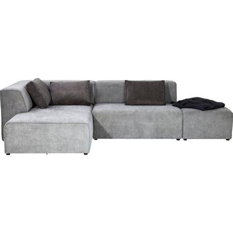 ottomane sofa sofa infinity ottomane left grey kare design