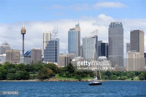 sailing boat licence nsw skyline of the central business district cbd sailing boat
