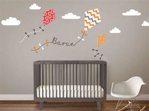 ucurtmalar bebek odasi duvar sticker stickerimcom