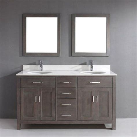 french grey bathroom vanity house decor ideas