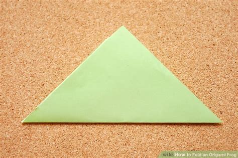 One Fold Origami - how to fold an origami frog 10 steps with pictures
