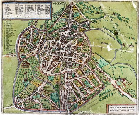 di vicenza raccolta cartografica vicentina biblioteca civica bertoliana
