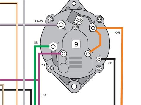 delco cs alternator wiring diagram delco get free image